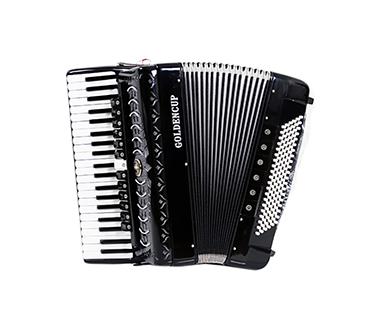 JH2001(全进口)  120贝斯手风琴  官网标价16600元