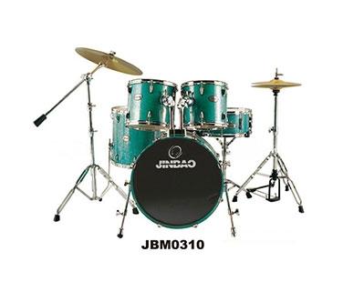 儿童鼓JBJ1045 津宝乐器 高级PVC 架子鼓  官网标价1600元