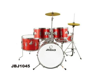 儿童鼓JBJ1045 津宝乐器 高级PVC 架子鼓